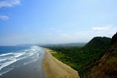 Spiaggia del Pacifico ad Olon